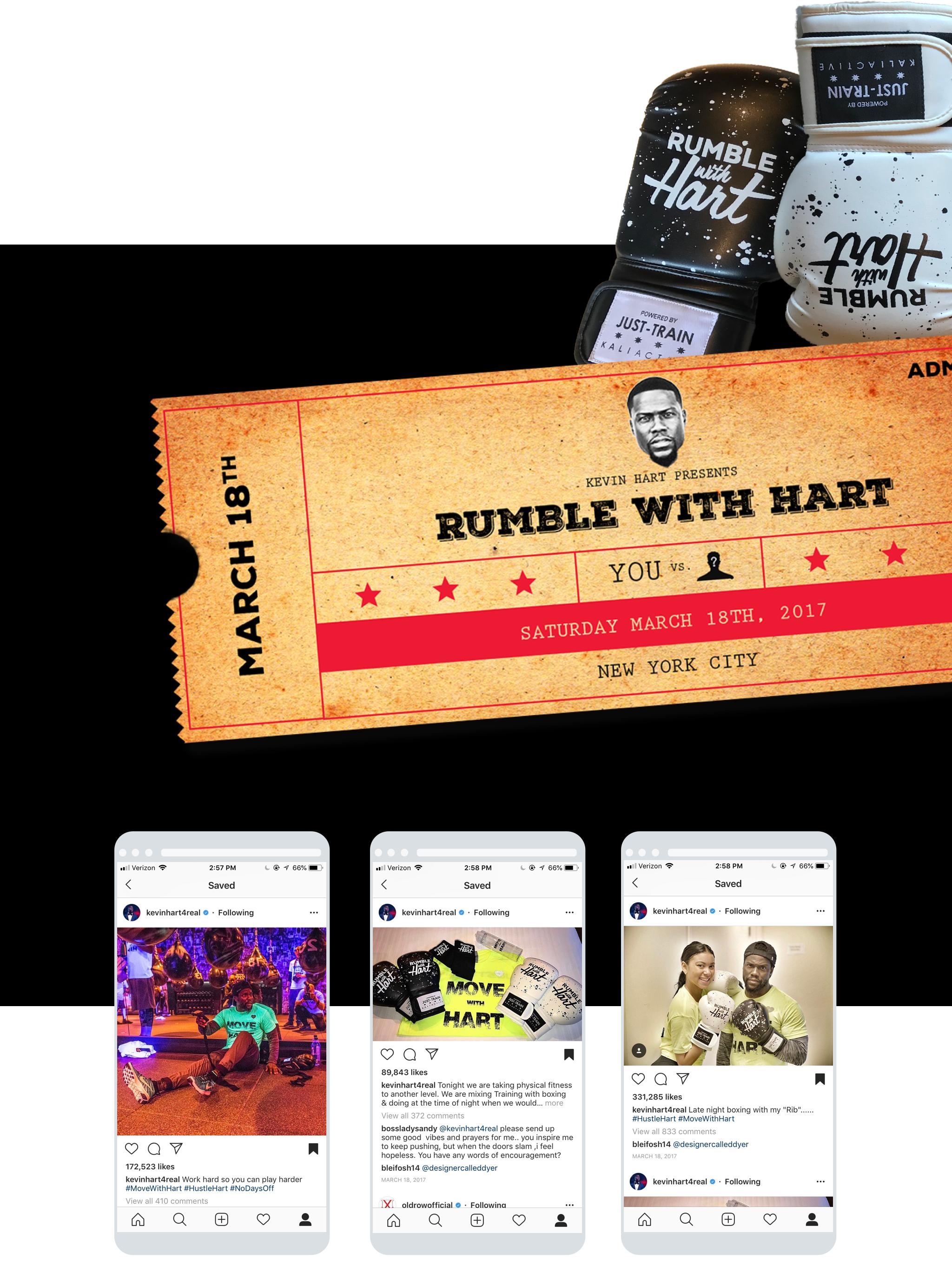 rumble hart 3 iphones display
