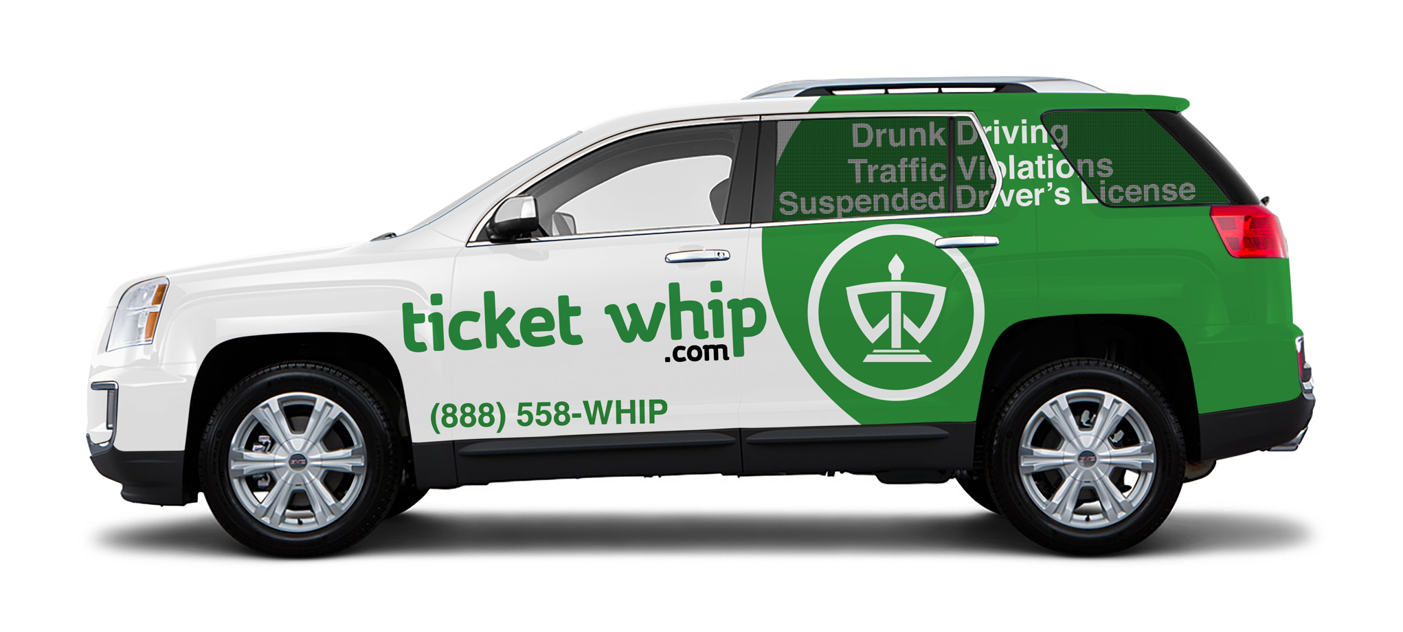 ticketwhip car wrap