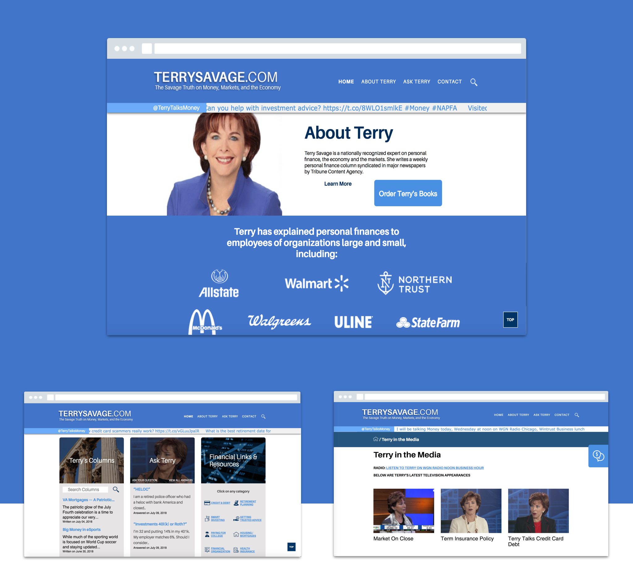 terry multiple screens